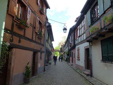 Ruelle romantique à Kaysersberg