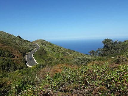 Tenerife, route sans début et sans fin