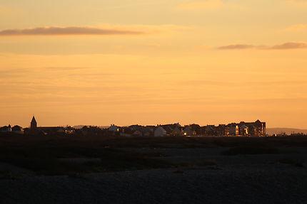 Coucher de soleil sur Cayeux sur Mer