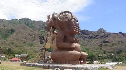 Le plus grand tiki du monde