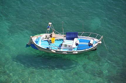 Petit bateau à Monterosso al Mare