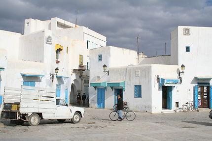 Ambiance dans les ruelles de Kairouan