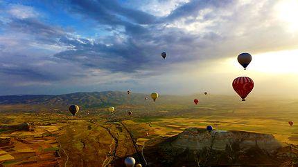 Aube en Cappadoce