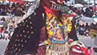 Visions diaboliques au carnaval d'Oruro