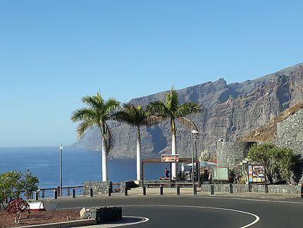 Belle route de Tenerife