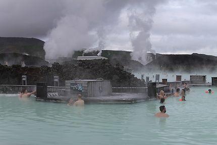Blue lagoon à Reykjavík