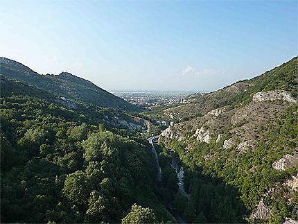 Vue sur Asenovgrad