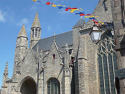 La collégiale de Saint-Aubin de Guérande
