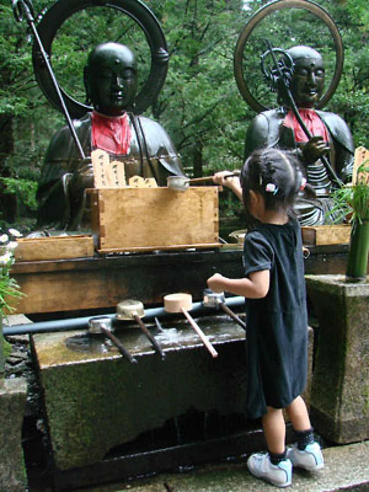 Jizo, divinité des voyageurs
