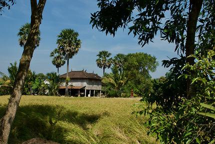 Habitation dans la campagne de Kep