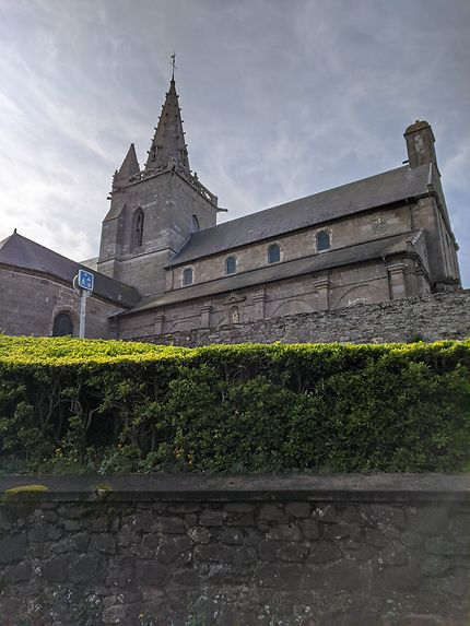 Eglise de la ville haute de Granville