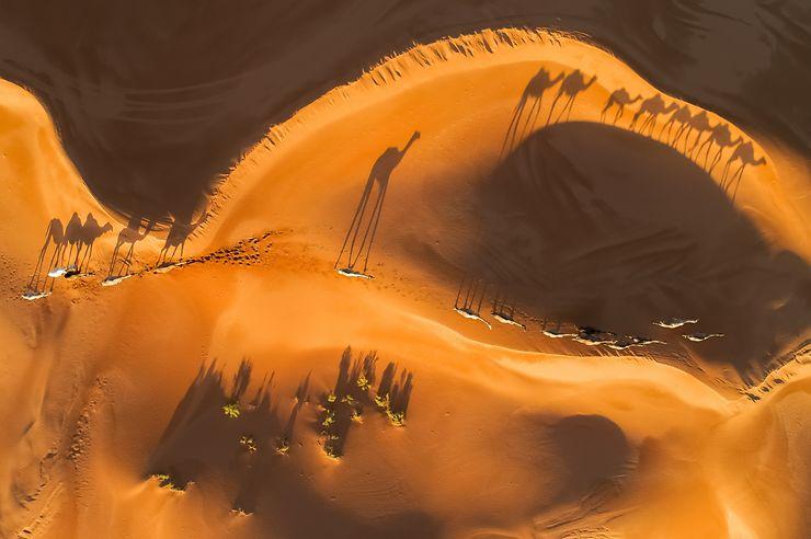 Un œil sur le désert, Arabie Saoudite
