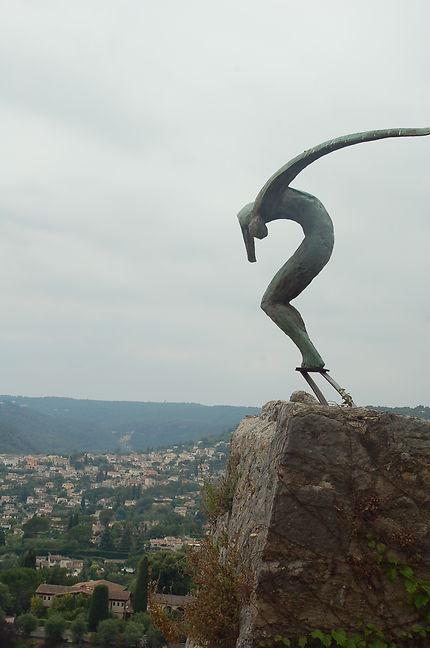 Statue à Saint-Paul de Vence