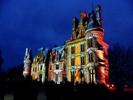 Illuminations du Château de Trevarez