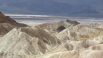 Vallée de la mort en Californie