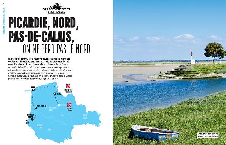 Les itinéraires du Nord-Ouest de la France