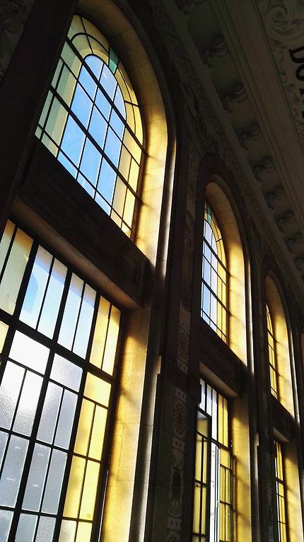 Reflets de la gare de Porto