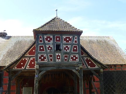Dominos géants à Ungersheim