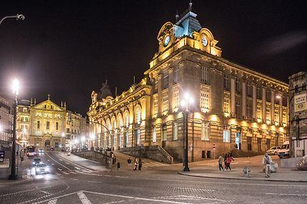 La gare centrale de Porto
