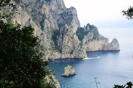 Les beautés de l'île de Capri
