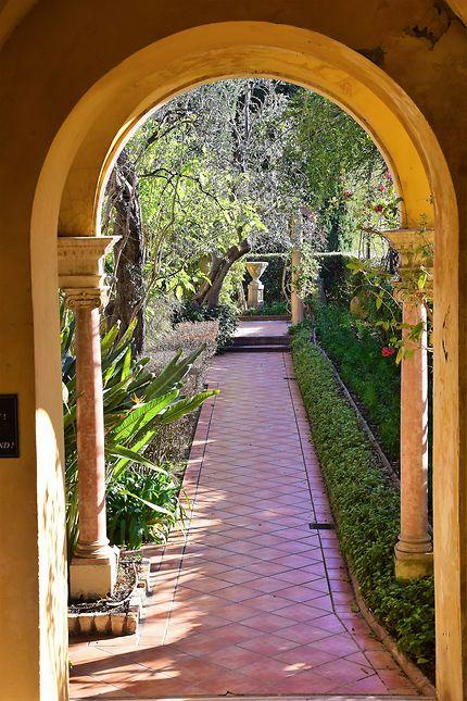 Promenade dans les jardins de la villa Rothschild