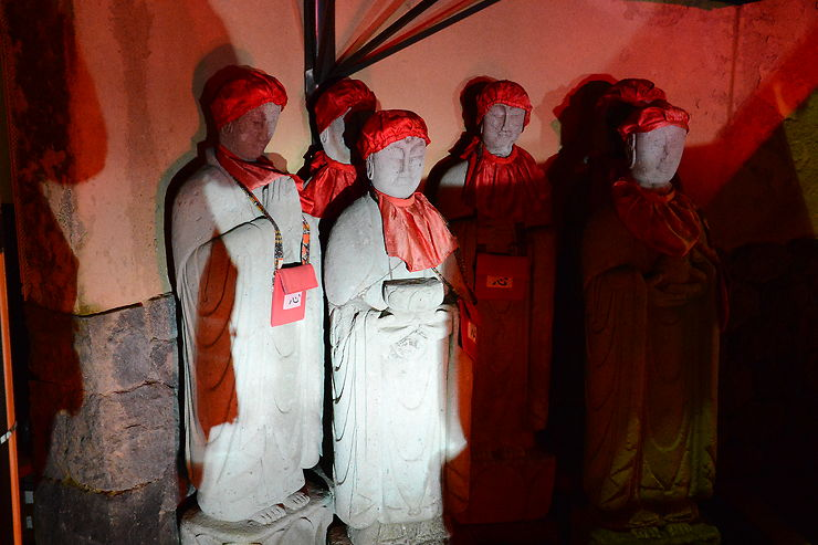 Statuettes à Kanazawa, Japon