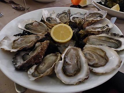 Les superbes huîtres de Cancale