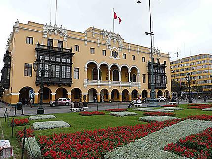 Lima et ses superbes bâtiments
