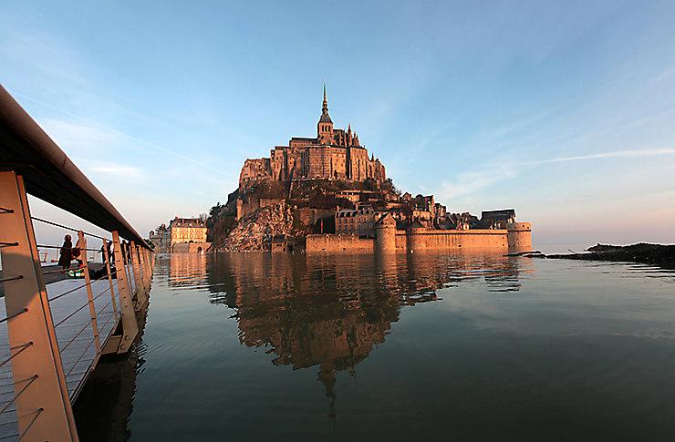 La Marée du siècle au Mont-Saint-Michel