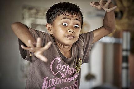 Élève de l'école de danse d'Ubud