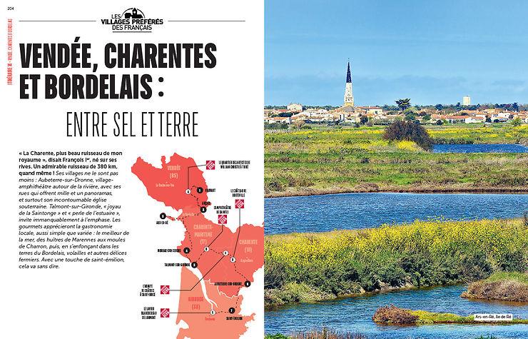Les itinéraires du Sud-Ouest de la France