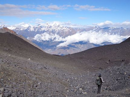 Népal panorama sommet 5416m