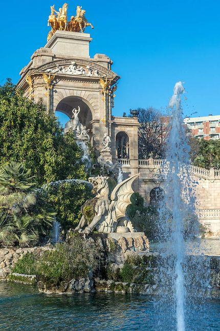 Fontaine du Parc de la Ciutadella, Barcelone