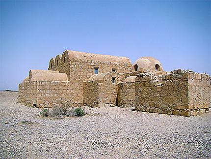 Vue sur le Qsar Amra
