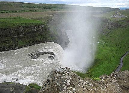 La cascade de Gullfoss