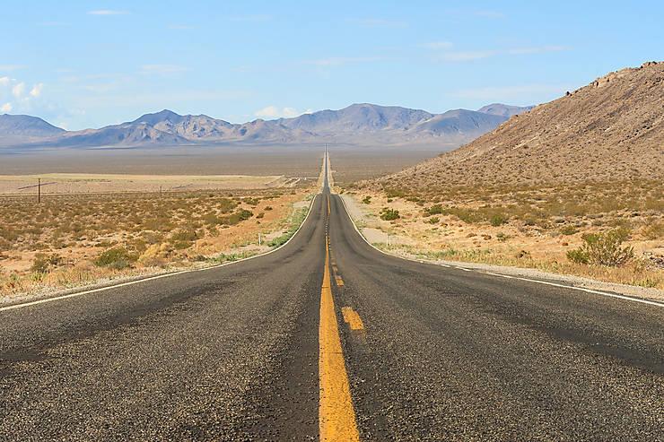 Route 190, Vallée de la Mort - Californie, États-Unis