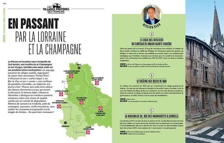 Les itinéraires du Nord-Est de la France