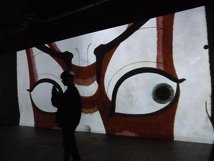 Projection Atelier des Lumières