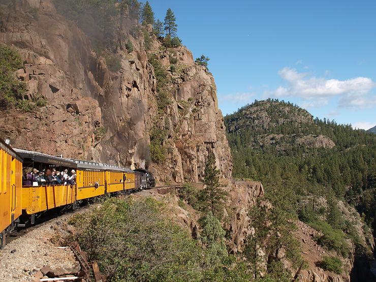 Narrow Gauge Train, Colorado, USA