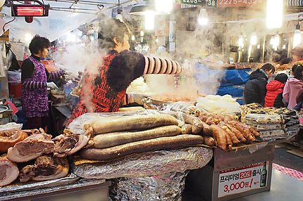 Street food à Séoul