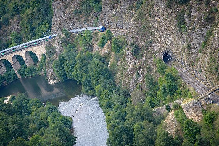 Train touristique des Gorges de l'Allier (Haute-Loire, Lozère)