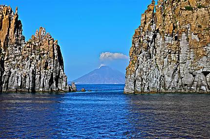Une vue sur le Stromboli