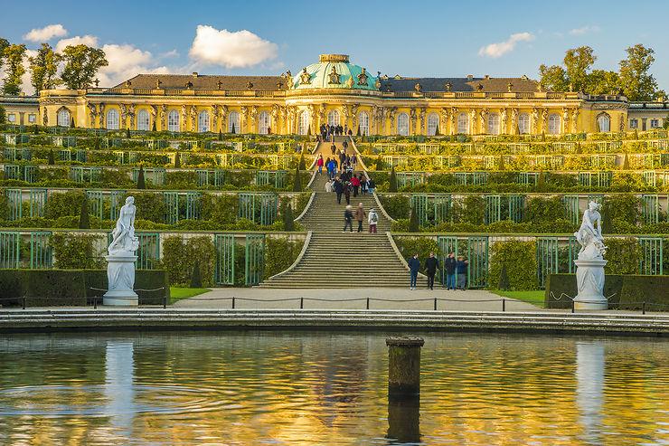 L'univers rococo du château de Sans-Souci à Potsdam