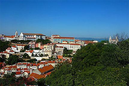 Vue depuis le Castelo