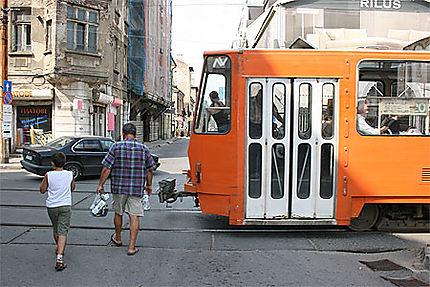 Tram orange