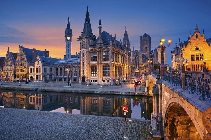 Gand, la belle Flamande