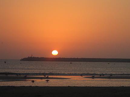 Coucher de soleil sur Essaouira