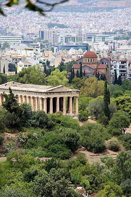 Agora d'Athénes