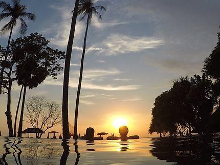 Un couché de soleil à Koh Lanta