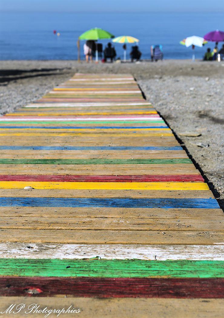 Vamos a la playa, Salobreña , Andalousie